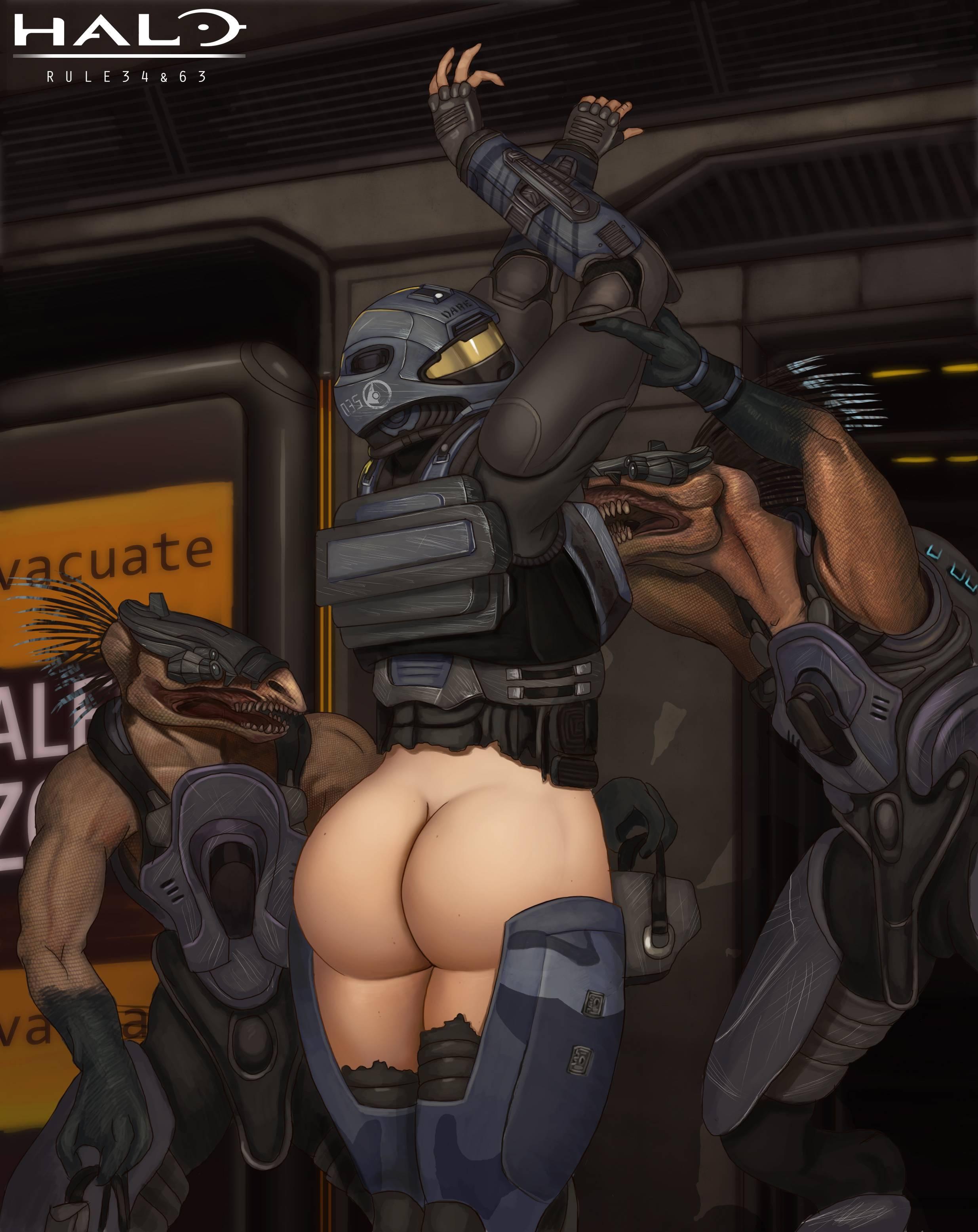 halo spartan porn