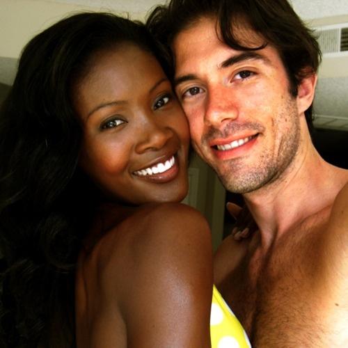 Black gay model nude
