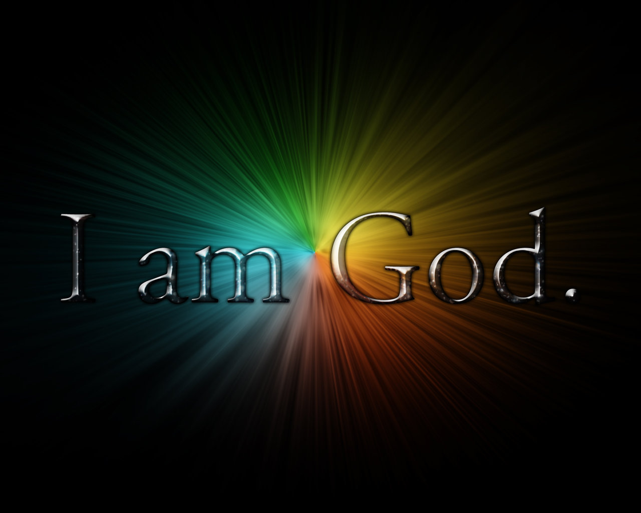 i am a god oby